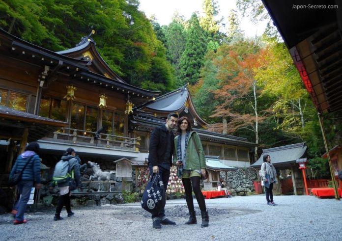 """Santuario Kifune Jinja. Kibune (Kioto). Los colores del otoño o """"momiji"""""""