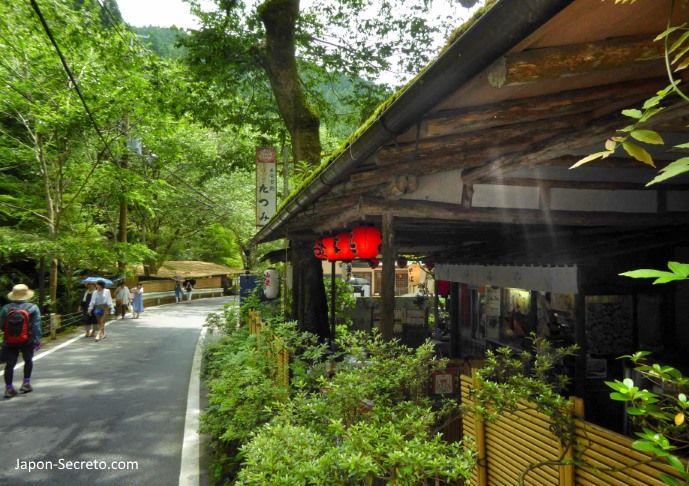 Viaje a Kibune (Kioto) en verano.