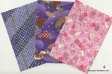Tissus autocollants petit format Yuzen