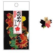 Petit autocollant en tissu Sakura(Fleur de cerisier)