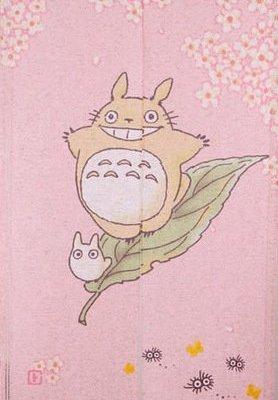 Noren Totoro et Sakura