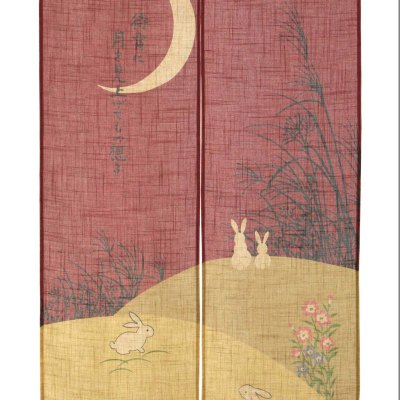 Noren Lune et lapins