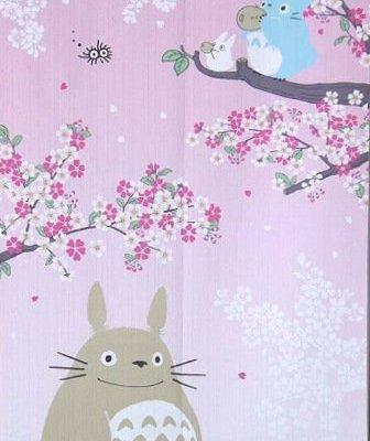 Noren Totoro au printemps