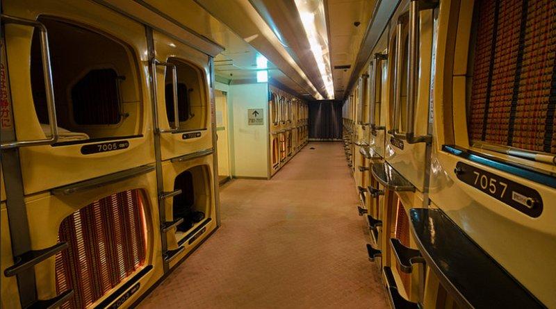 hoteles capsula japon