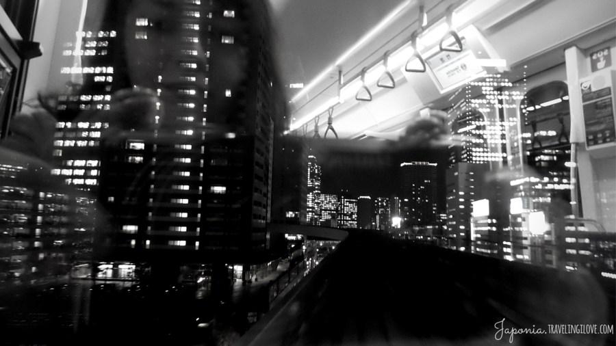 Shiodome the Blade Runner scene