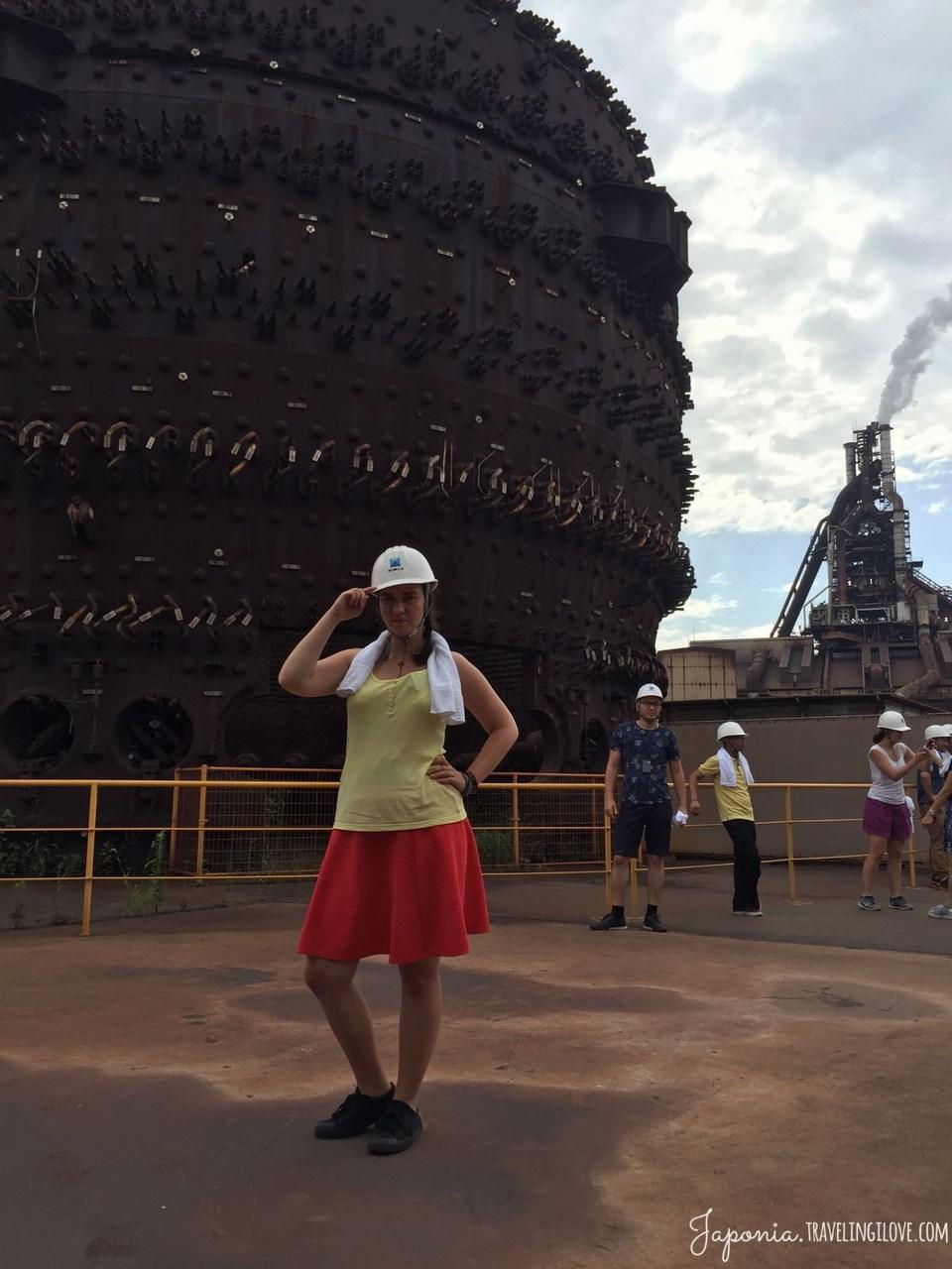 Nagoja - największa huta stali w Japonii (1)