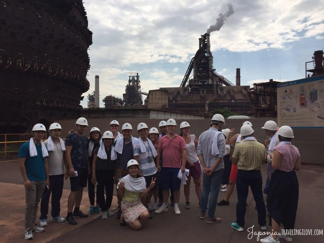 Nagoja - największa huta stali w Japonii (4)