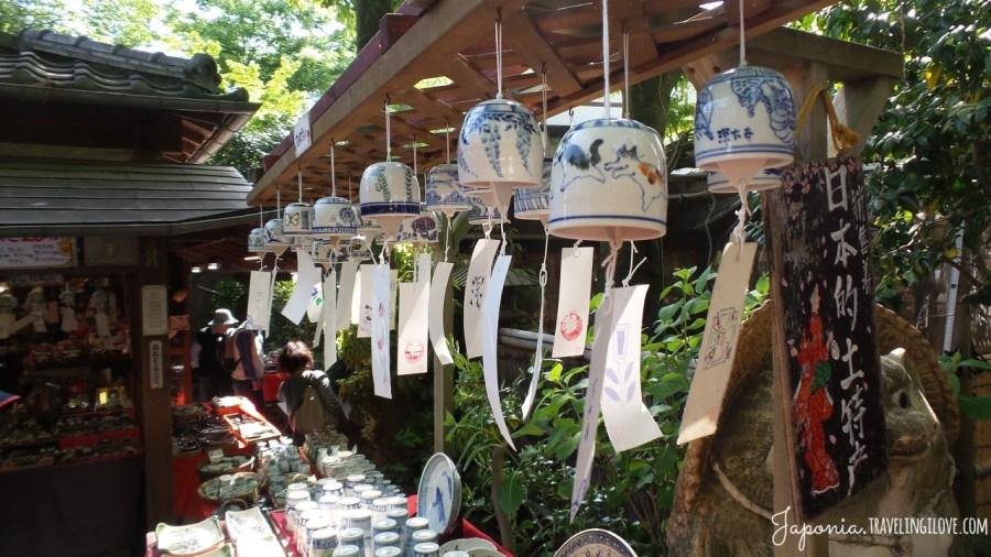 Porcelanowe dzwonki wiatrowe fuurin - symbole japońskiego lata