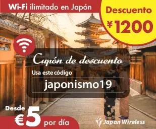 Pocket Wifi ilimitado en Japón con descuento con Japan Wireless