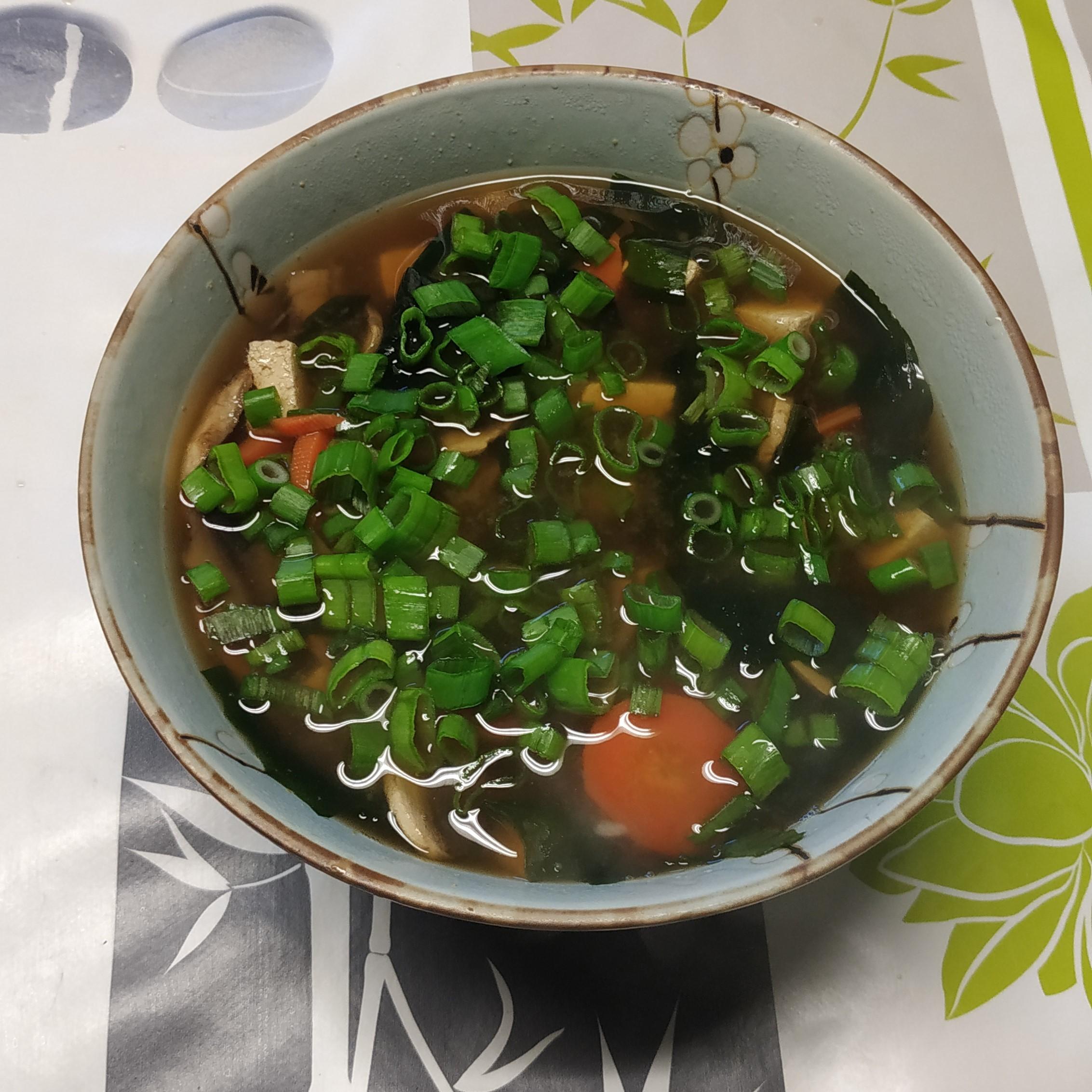 [Recette] Soupe miso version repas