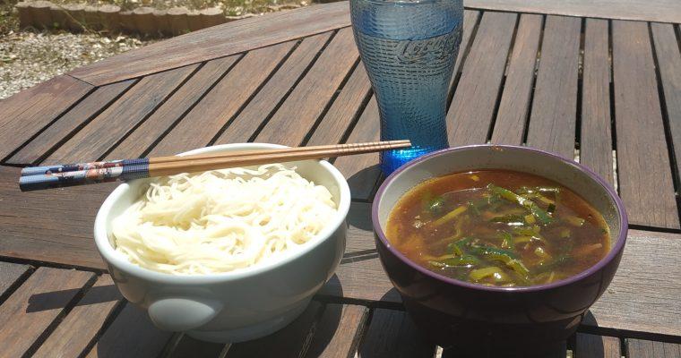 [recette] Somen en tsukemen : nouilles froides et bouillon chaud : spécial été
