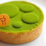 mini tarte a la poudre de the vert japonais