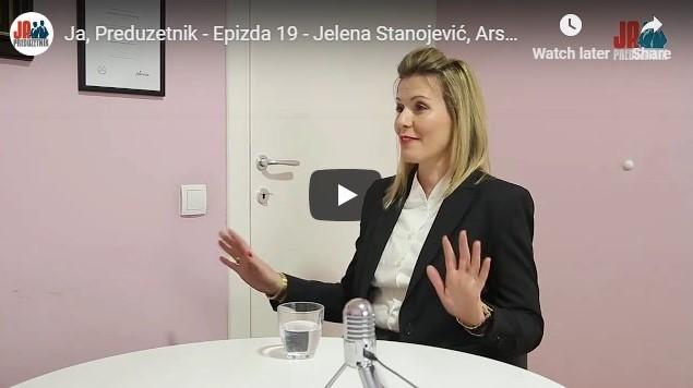 Ja, Preduzetnik – Epizoda 19 – Jelena Stanojević, Ars Nova