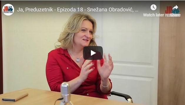 Epizoda 18 – Snežana Obradović, Aleđo
