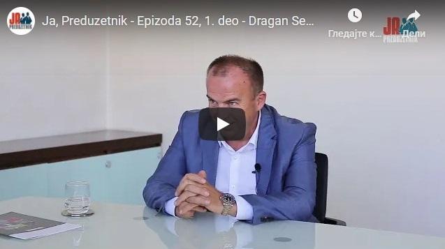 Ja, Preduzetnik – Epizoda 52, 1. deo – Dragan Senić, Sena