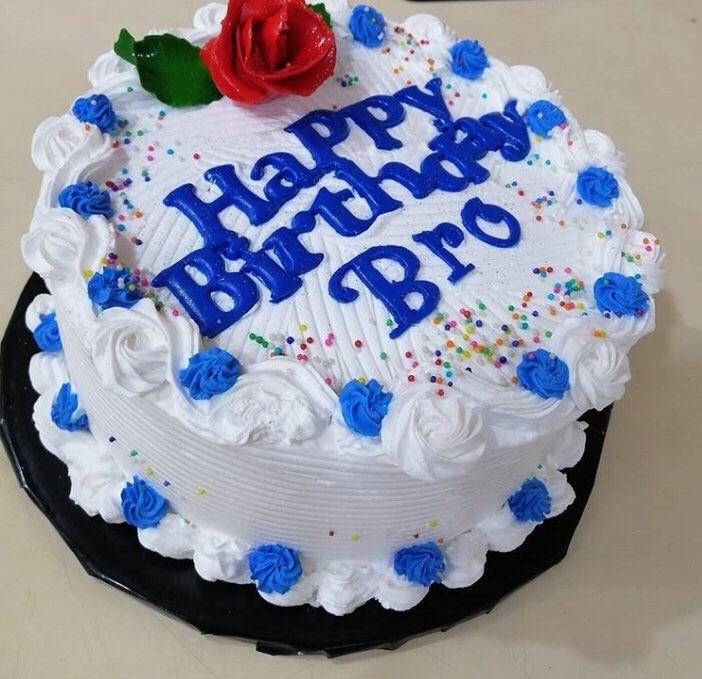 Happy Birthday Bro Cake Jaracake
