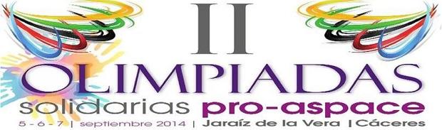 II Olimpiadas Pro-Aspace