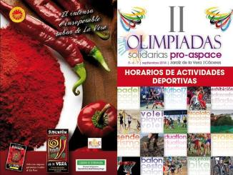 01 Horarios - II Olimpiadas Pro-Aspace