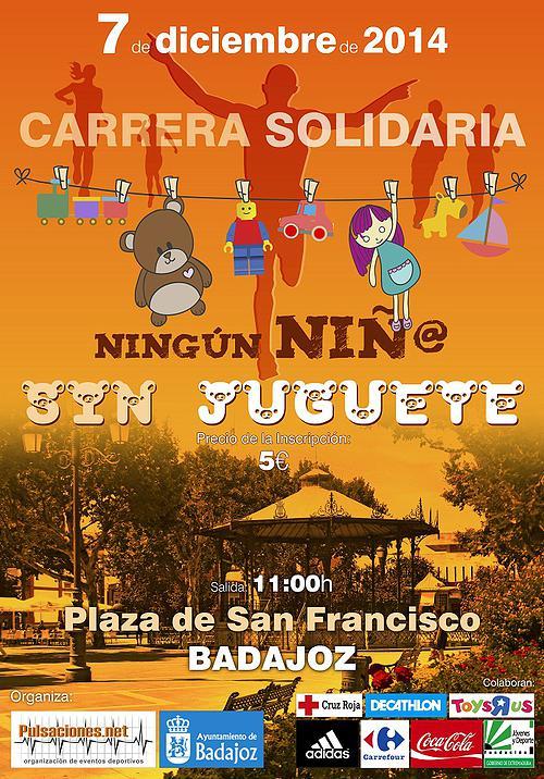 7 Diciembre - Carrera Solidaria - Badajoz