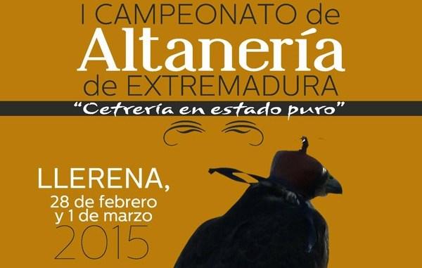 Llerena acoge el I Campeonato de Extremadura de Altanería