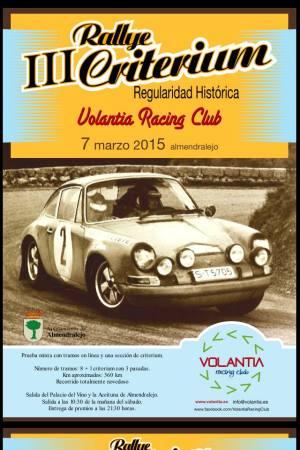 III Rallye Critérium de Regularidad Histórica