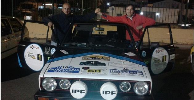 Reales y Barriga vencedores del III Rallye Critérium de Regularidad Histórica