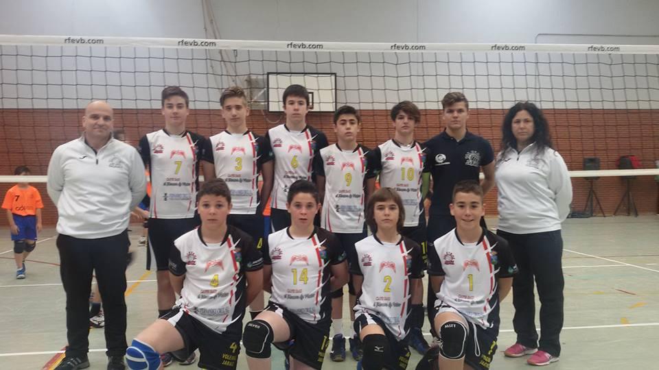 AD Voleibol Jaraíz - Campeonato de Extremadura 2015