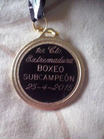Iván González Arias - Medalla de Boxeo Subcampeón de Extremadura