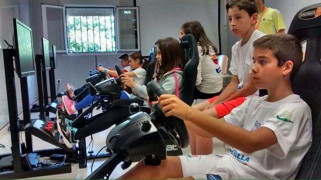 Competición de Fórmula 1 virtual englobada bajo el Programa PROADES de promoción del automovilismo