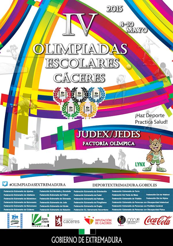 IV Olimpiadas Escolares - Cáceres 2015
