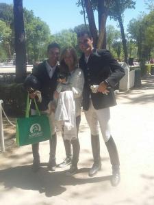 Los hermanos Díaz Amor en el IX Festival Doma Clásica Villa de Madrid