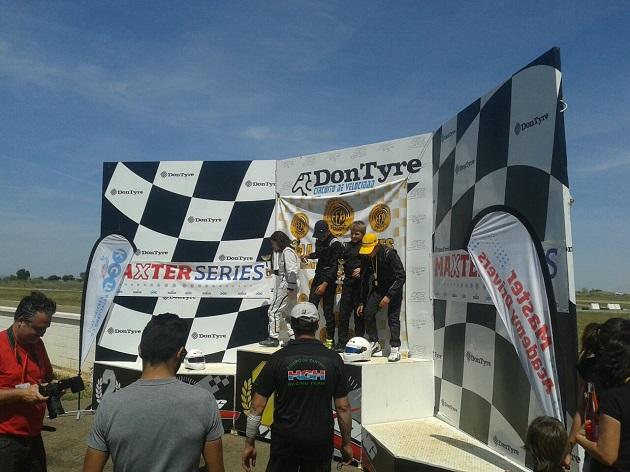 Podio Cadete - I Trofeo Maxter Extremadura