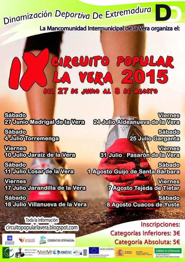 Circuito Popular de la Vera 2015
