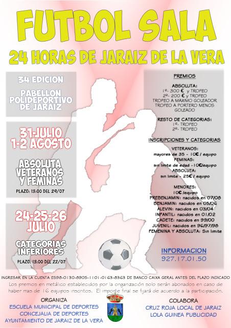 24 horas de fútbol-sala de Jaraíz de la Vera