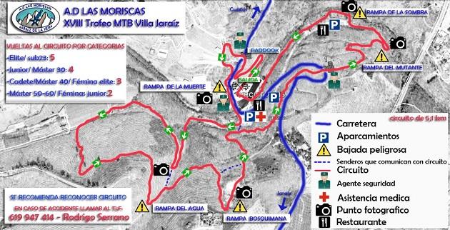 Circuito del Campeonato de Extremadura 2015 en Jaraíz de la Vera