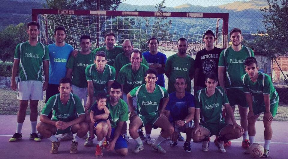 Publijaime Veteranos - Campeones de las 24 horas de Fútbol-sala de Cuacos de Yuste 2015