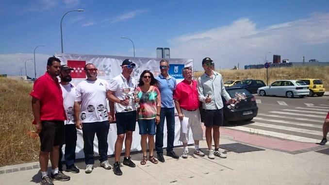 Caballero firma el triplete tras su victoria en el IV Slalom Villa de Parla