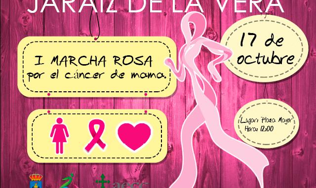 I Marcha Rosa Contra el Cáncer de Mama