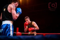 Iván González Arias en la Velada de Boxeo de San Miguel