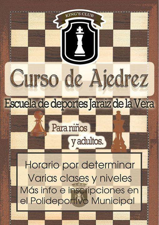 Curso de Ajedrez en Jaraíz de la Vera