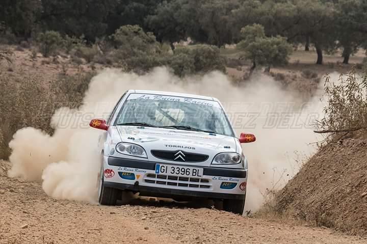 Eduardo Herrero y Esther Trancón. I Rallye de Tierra Ciudad de Jerez