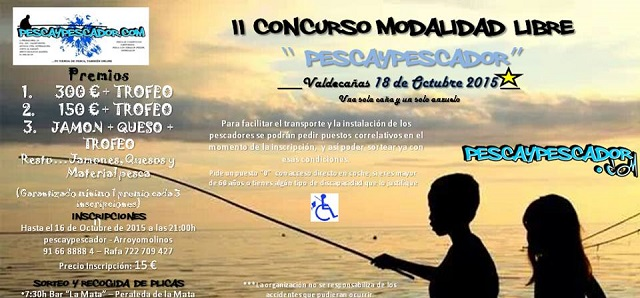 II Concurso de Modalidad de Pesca Libre