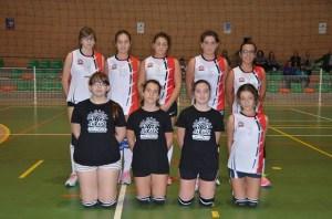 Equipo Cadete Femenino C.V. Jaraíz