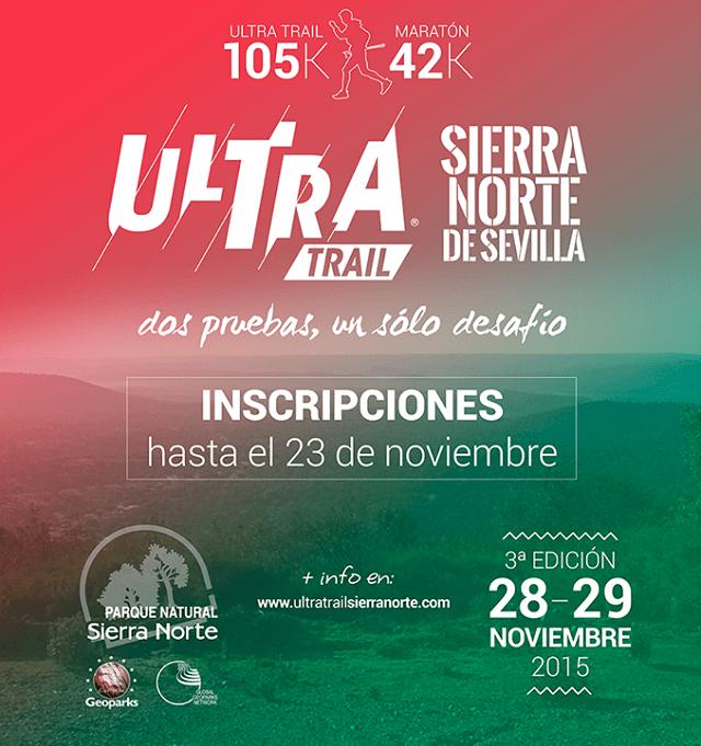 Ultra Trail Sierra Norte de Sevilla 2015