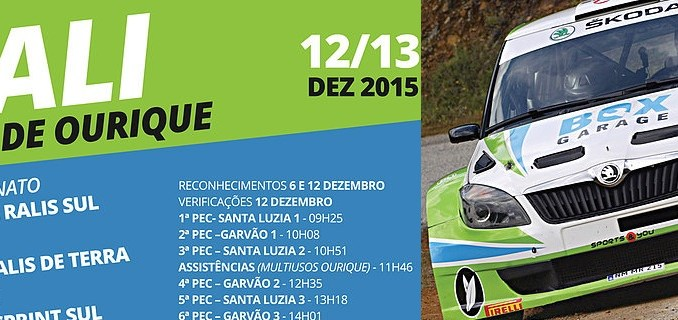Rallye Villa de Ourique en Portugal