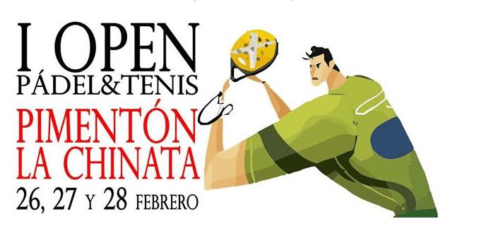 NETASA patrocina el I Open Pádel & Tenis Pimentón La Chinata