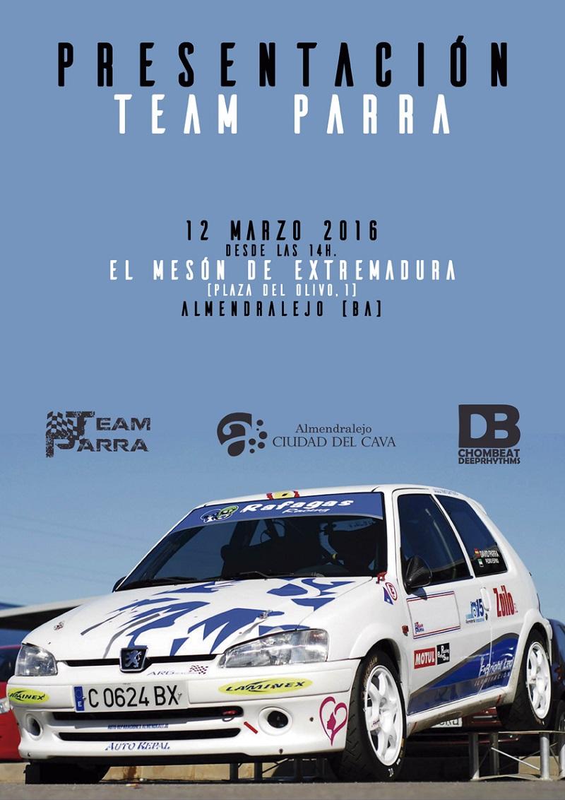Presentación del Team Parra