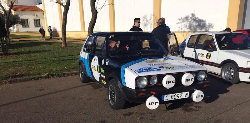 Reales y Barriga vencedores del IV Rallye Critérium de Regularidad Histórica
