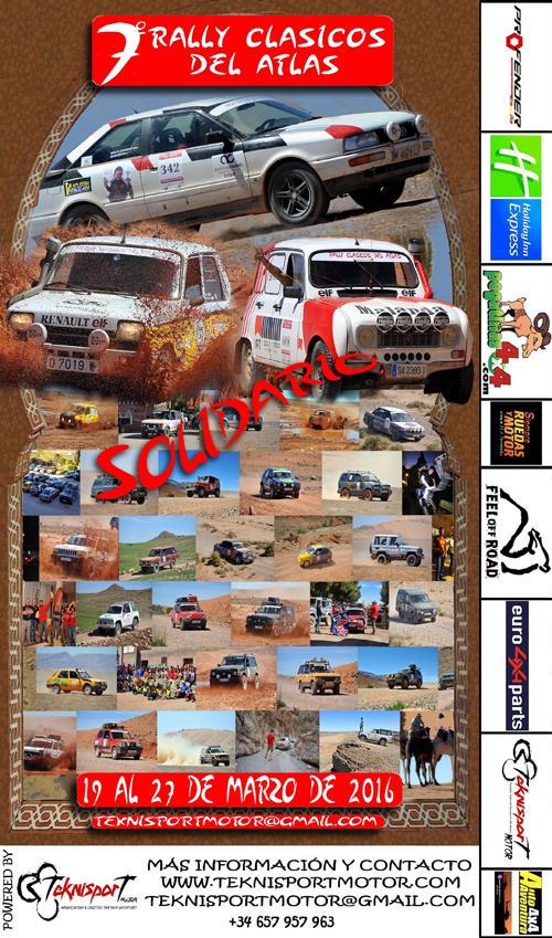 VII Rallye Solidario Clásicos del Atlas