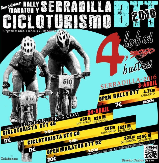 Open BTT Rally de Serradilla y Maratón